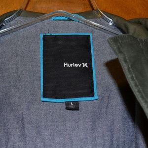 Hurley Jackets & Coats - Hurley Military Style Jacket Size Large